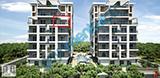 Bornova Green Sitesinde Teras Balkonlu 1+1 İnşaat Firmasından !