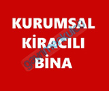 BULVARA CEPHE AYLIK NET 250.000 BİN +KDV KURUMSAL KİRACILI BİNA
